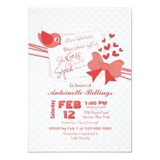 砂糖およびスパイスのベビーシャワーの招待状 カード