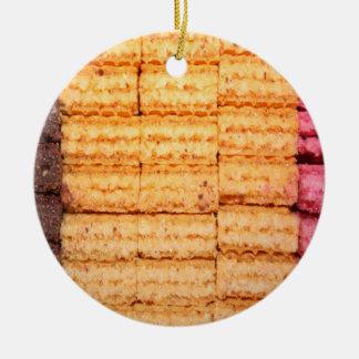 砂糖のウエファーのクッキー セラミックオーナメント