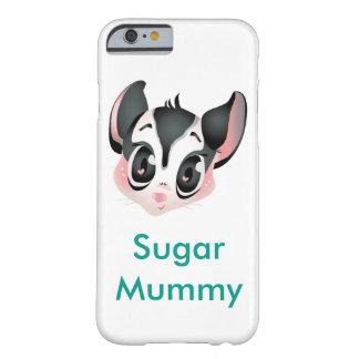 砂糖のグライダーのミイラのiPhone 6/6sの場合 Barely There iPhone 6 ケース