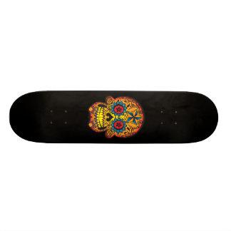 砂糖のスカルのスケートボード オリジナルスケートボード