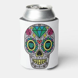 砂糖のスカルのデザインのBohoファンキーな愛 缶クーラー