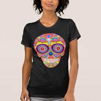 砂糖のスカルのワイシャツ-死んだ芸術のTシャツの日 Tシャツ