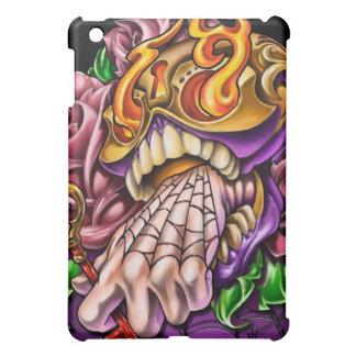 砂糖のスカルの入れ墨のiPadの場合 iPad Miniケース