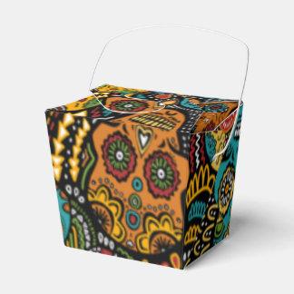 砂糖のスカルの好意箱ハロウィン フェイバーボックス