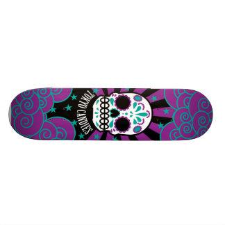 砂糖のスカル カスタムスケートボード
