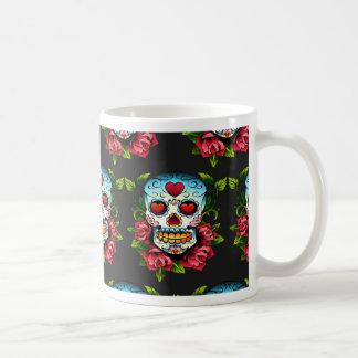 砂糖のスカル コーヒーマグカップ