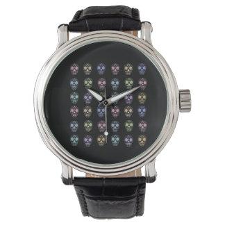 砂糖のスカル 腕時計