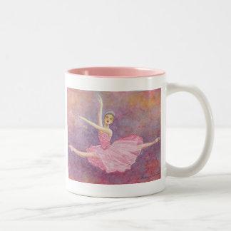 砂糖のプラム妖精はマグ2味方しました ツートーンマグカップ