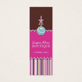 砂糖のポップは付きます感謝していしています スキニー名刺