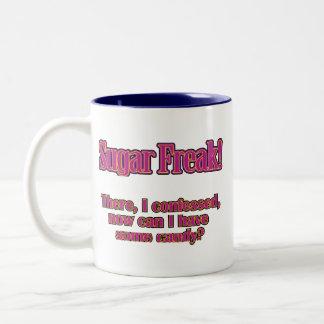 砂糖の変種-そこに、私は告白しました ツートーンマグカップ