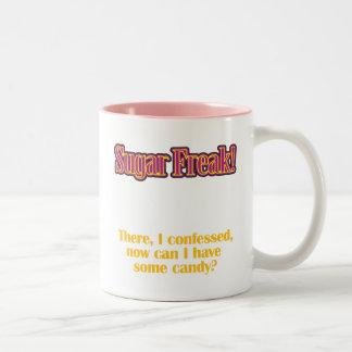 砂糖の変種! -そこに、私は告白しました ツートーンマグカップ