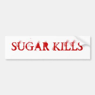 砂糖の殺害 バンパーステッカー