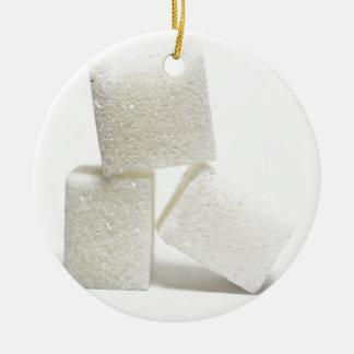 砂糖の立方体 セラミックオーナメント