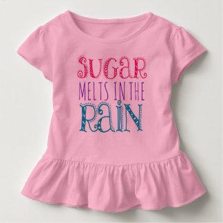砂糖は雨赤ん坊のワイシャツで溶けます トドラーTシャツ