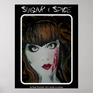 「砂糖及びスパイス」ポスター ポスター