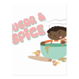 砂糖及びスパイス ポストカード