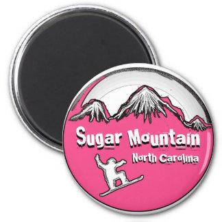 砂糖山のノースカロライナのスノーボードの磁石 マグネット