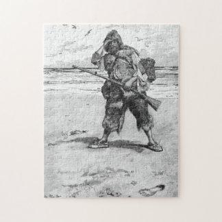 砂1の足跡 ジグソーパズル