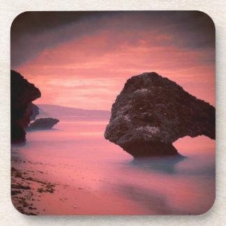 砂、波および石 コースター