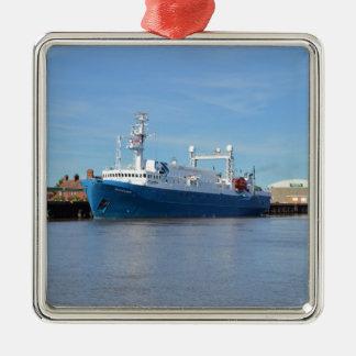 研究および調査の容器の海の探検家 メタルオーナメント
