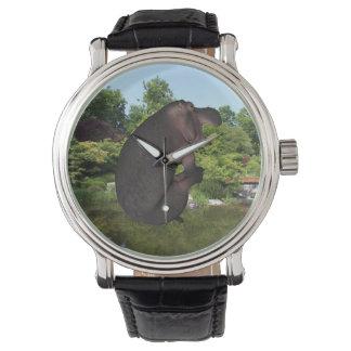 砲弾のカバ 腕時計