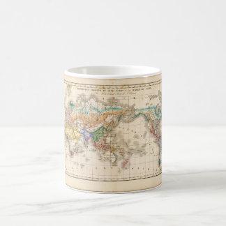 破壊された世界地図15 コーヒーマグカップ