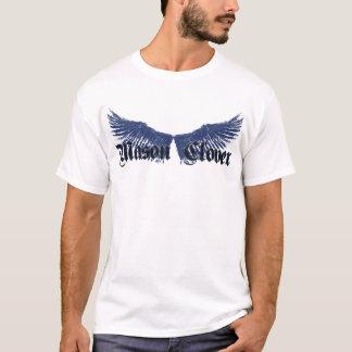 破壊された翼のティー Tシャツ