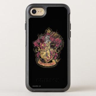 破壊されるハリー・ポッターシリーズ| Gryffindorの頂上- オッターボックスシンメトリーiPhone 8/7 ケース