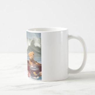破壊される船 コーヒーマグカップ