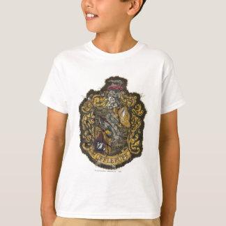 破壊されるHufflepuffの頂上- Tシャツ
