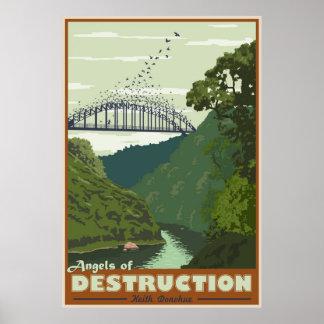 破壊の天使 ポスター