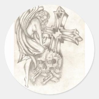 破壊の天使 丸型シール