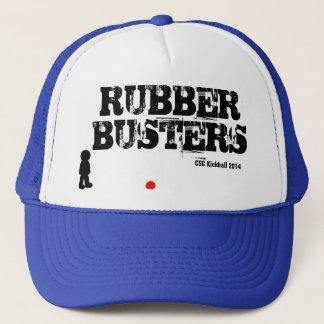 破壊者のKickballのゴム製帽子 キャップ