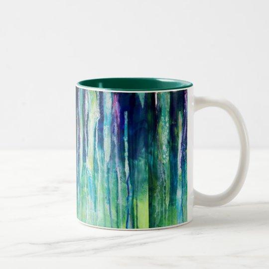 破損の川 ツートーンマグカップ