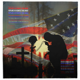 破損の記憶の退役軍人の記念の谷 ナプキンクロス