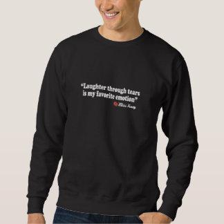 破損を通した笑い声 スウェットシャツ