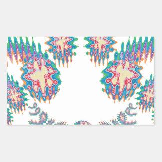 破烈する星- Supershineショー 長方形シール