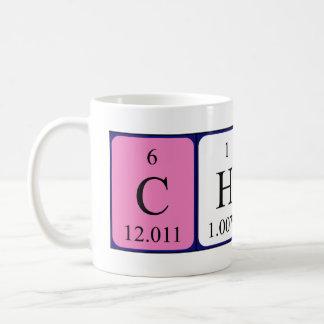 破片の周期表の名前のマグ コーヒーマグカップ