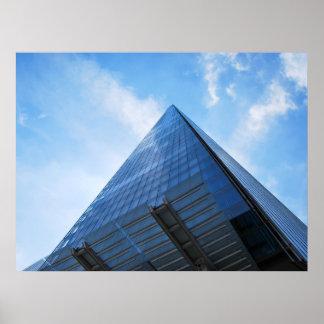 破片の超高層ビルロンドン ポスター