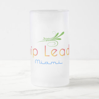 破片のLeader®のマイアミによって曇らされるマグ フロストグラスビールジョッキ