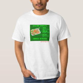 破片、チーズおよびグレービーの分析 Tシャツ