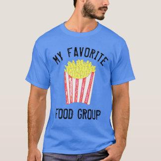 破片(フライドポテト)のかわいいおもしろいのTシャツ Tシャツ