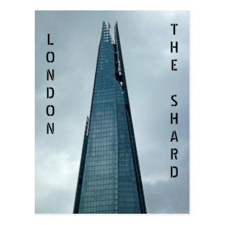 破片、ロンドン ポストカード