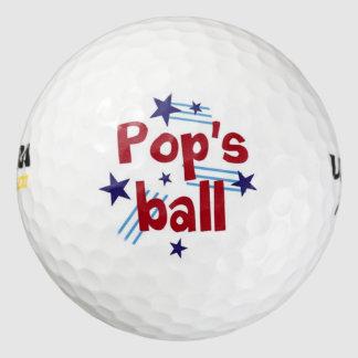 破裂音の球 ゴルフボール
