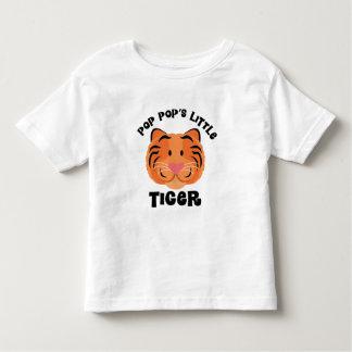 破裂音は小さいトラのかわいいギフトをぽんと鳴らします トドラーTシャツ
