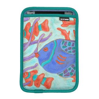 破裂音色の魚 iPad MINIスリーブ