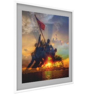 硫黄島の写真 キャンバスプリント