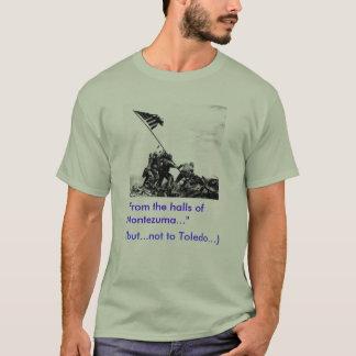 """硫黄島、""""Yes""""。   トレド、""""いいえ"""" Tシャツ"""