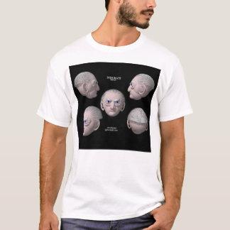 硬化して下さい(前部) Tシャツ