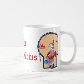 硬貨のタロット2 コーヒーマグカップ